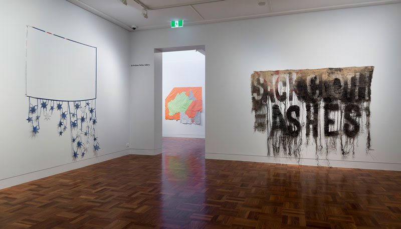 Raquel Ormella: I hope you get this, installation view, Shepparton Art Museum. Courtesy the artist and Milani Gallery, Brisbane. Photo: Christian Capurro