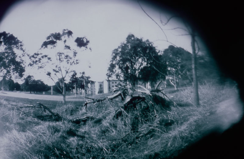 Marta Penner, Canberra, 2001, pinhole photograph. Courtesy of the artist and Canberra Contemporary Art Space