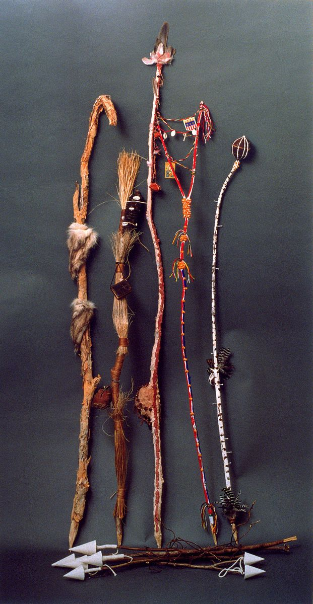 Bronia Iwanczak, Border Sticks. Courtesy the artist