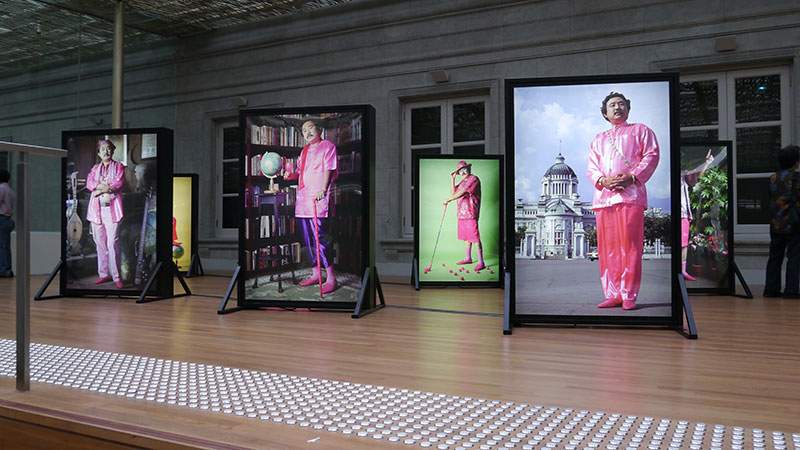 National Gallery Singapore, installation view