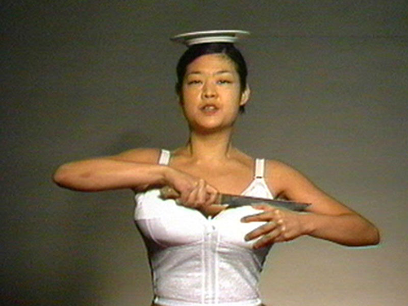 Patti Chang, Melons (at a loss), 1998, single channel video, sound, 3:44. Courtesy the artist
