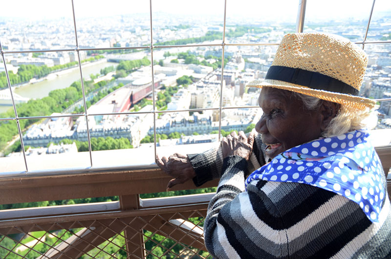 Lena Nyadbi, Eiffel Tower, 2013