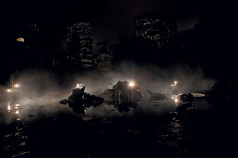 Pierre Huyghe, A Journey That Wasn't, Double Negative