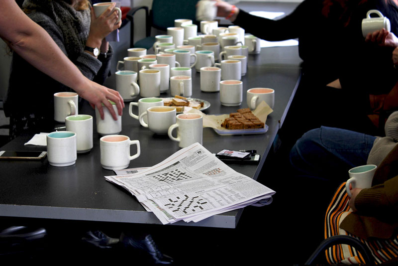 Public Share, Collective Agreement (morning tea event), The Dowse Art Museum, 2 August 2019