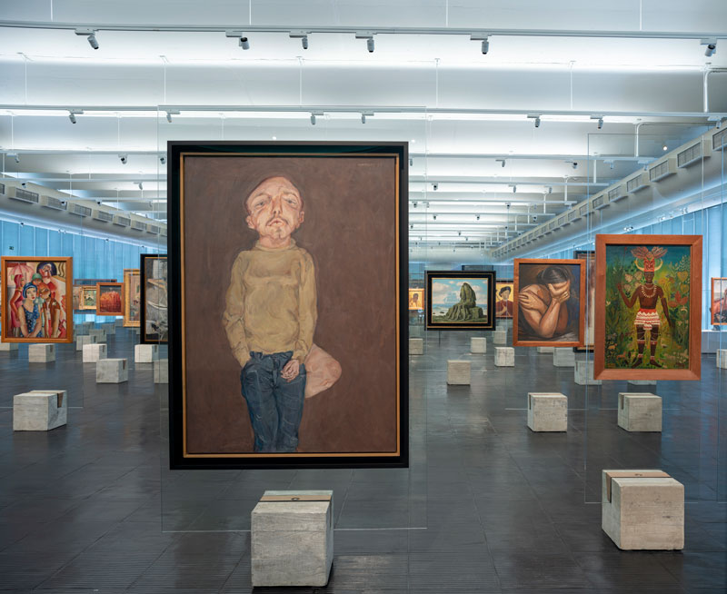 Installation view, courtesy the São Paulo Museum of Art. Photo: Eduardo Ortega