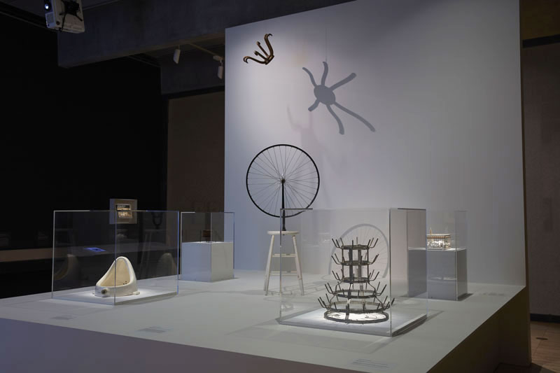 Installation view of The Essential Duchamp at the Art Gallery of New South Wales, 2019. © Association Marcel Duchamp/ADAGP. Copyright Agency, 2020