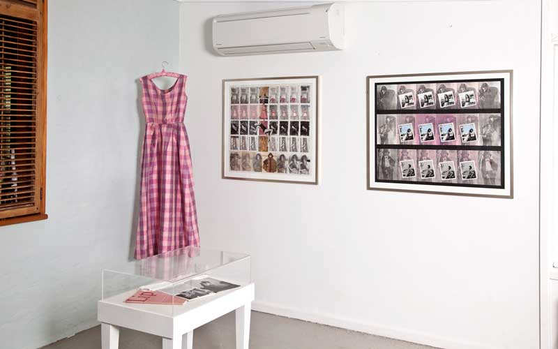 Jude Adams: Narratives from the Family Album, installation view, artroom5