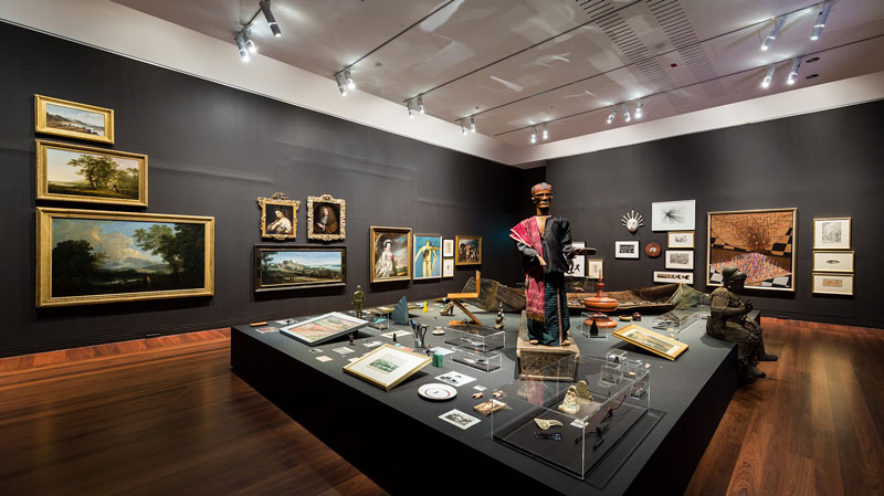 Patrick Pound installation view, Art Gallery of South Australia