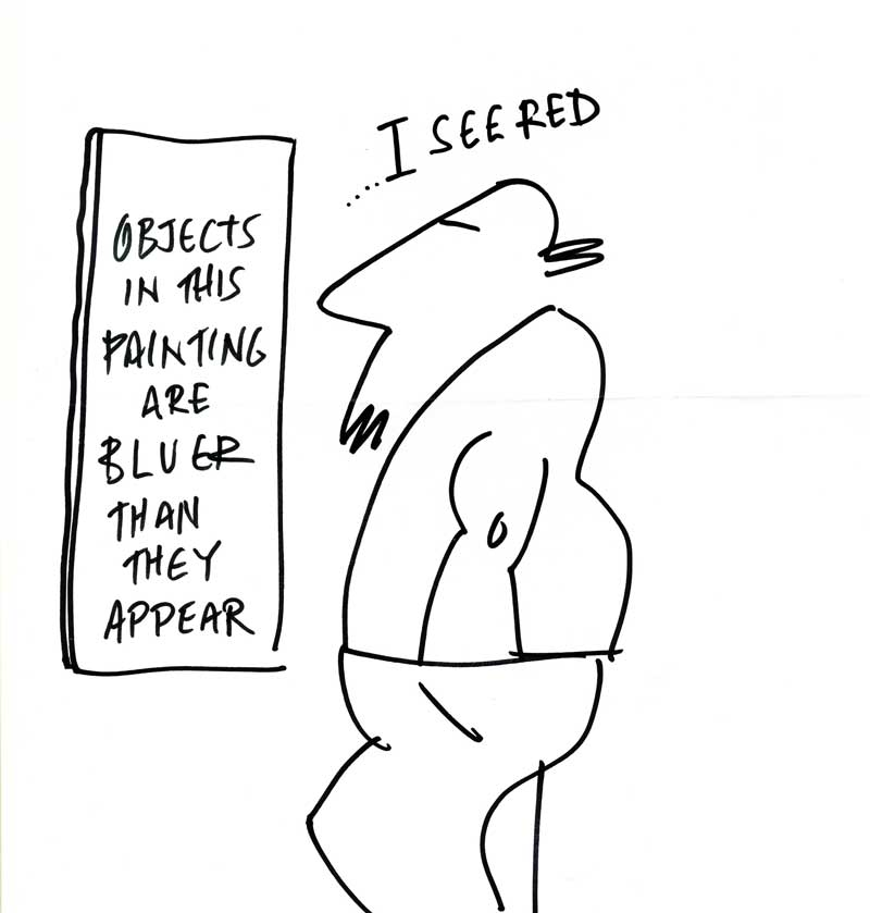 Graphic Bart Rose. Objects bluer than they appear