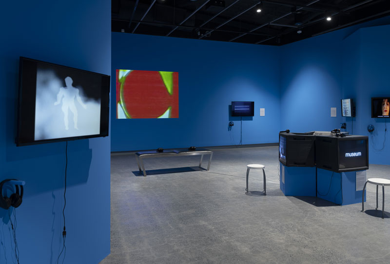 Cognitive Dissidents: Reasons to be Cheerful, installation view. Courtesy Griffith University Art Museum