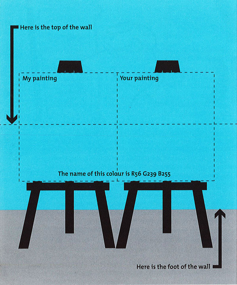 Donald Brook wall diagram