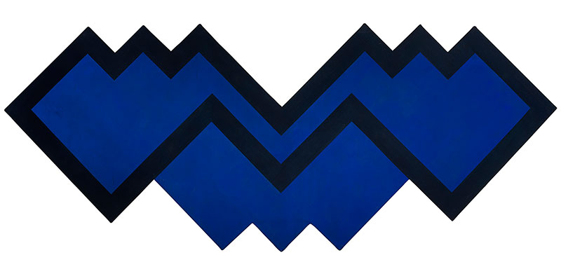 Michael Johnson, Chomp, 1966, polyvinyl acetate on canvas. Private collection, Brisbane