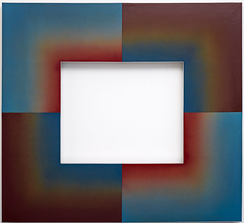 Paul Partos, Vesta II, 1968, synthetic paint on polymer canvas. Collection: Art Gallery of New South Wales, Sydney, Visual Arts Board Australia Council, Contemporary Art Purchase Grant, 1975