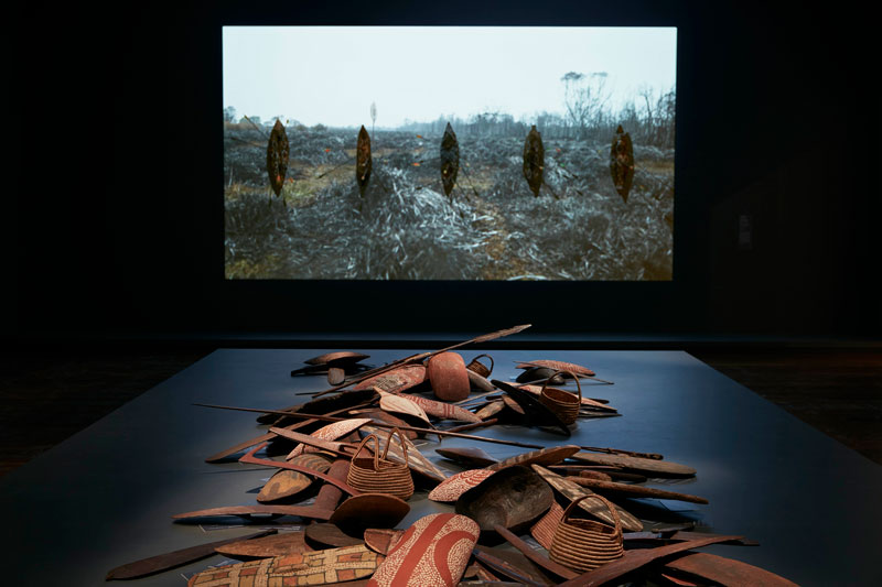 Installation view, Colony: Frontier Wars, National Gallery of Victoria, Melbourne