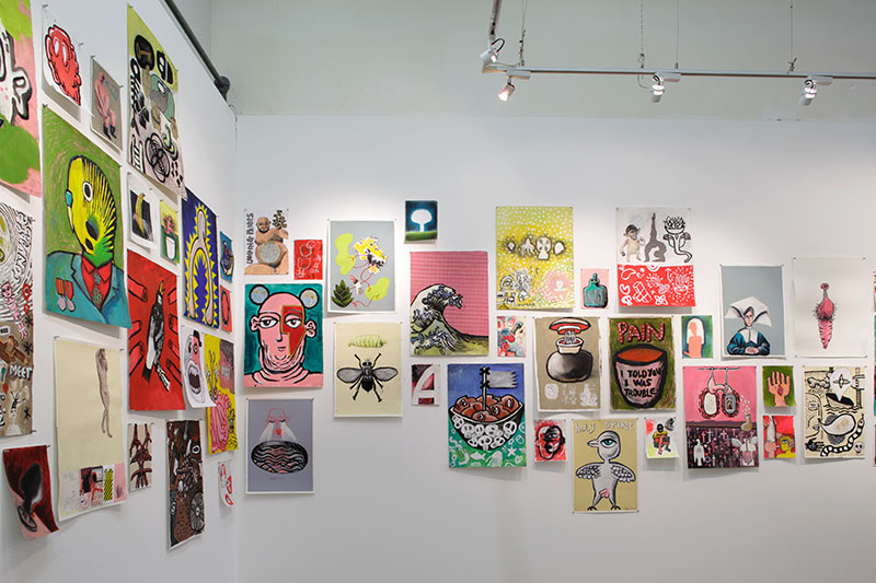 Andy Ewing: Chronic Manageable Condition, installation view, Northern Centre for Contemporary Art, Darwin