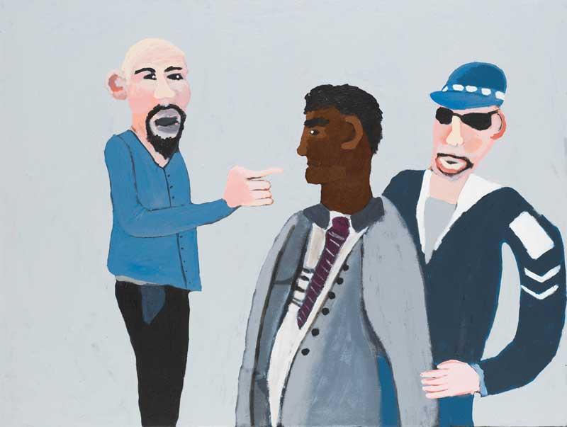 eaabfd9757ec7 Vincent Namatjira: Colourful optimism | Artlink Magazine