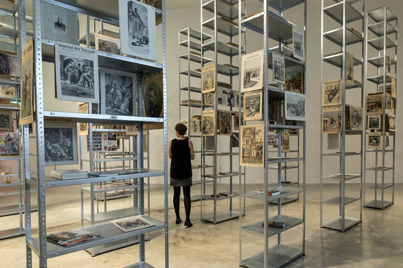 Kader Attia, The Culture of Fear, installation view, Museum of Contemporary Art, Sydney