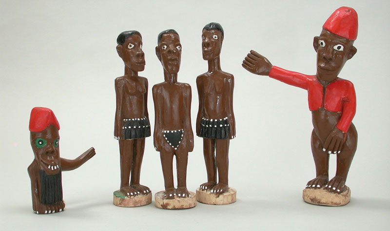 Philip Rikhotso, sculptural figures