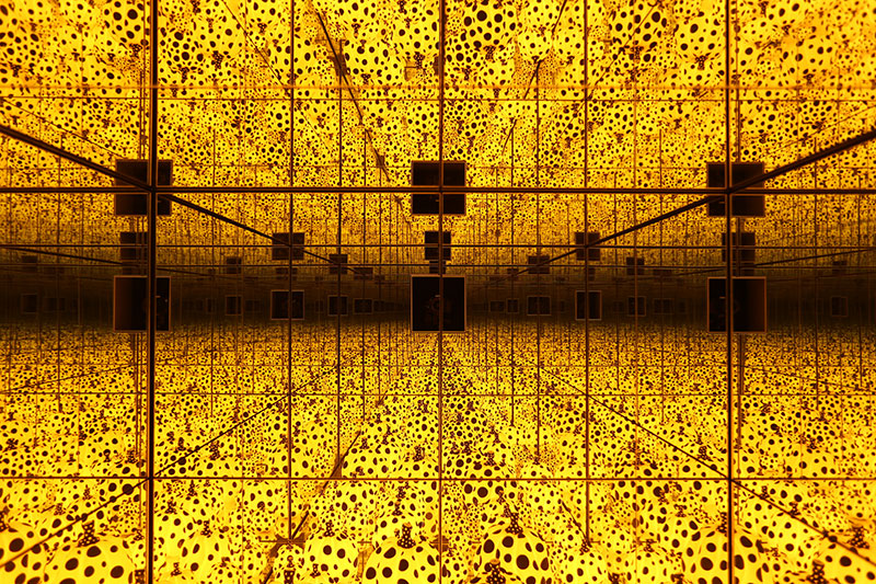 Yayoi Kusama, The Spirit of the Pumpkins Descnended iInto the Heavens