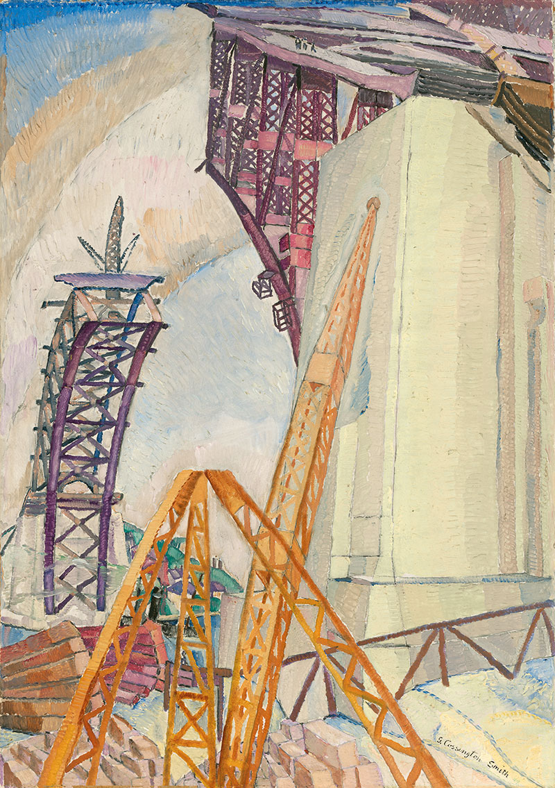 Grace Cossington Smith, Bridge in Building