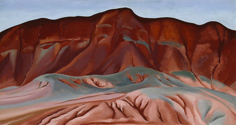 Georgia O'Keefe, Purple Hills