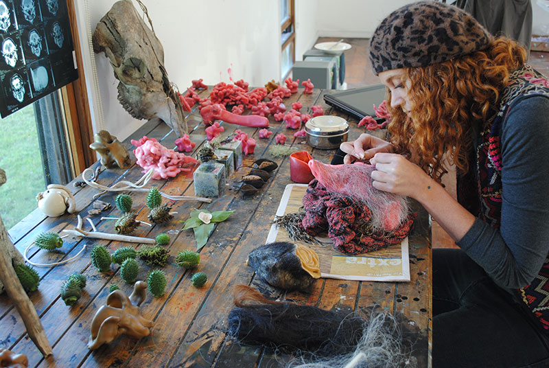 Juz Kitson, The Bundanon Trust Artist Residency Program