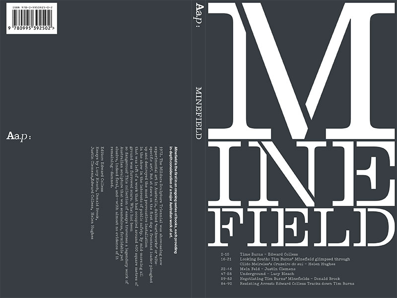Cover of publication Minefield