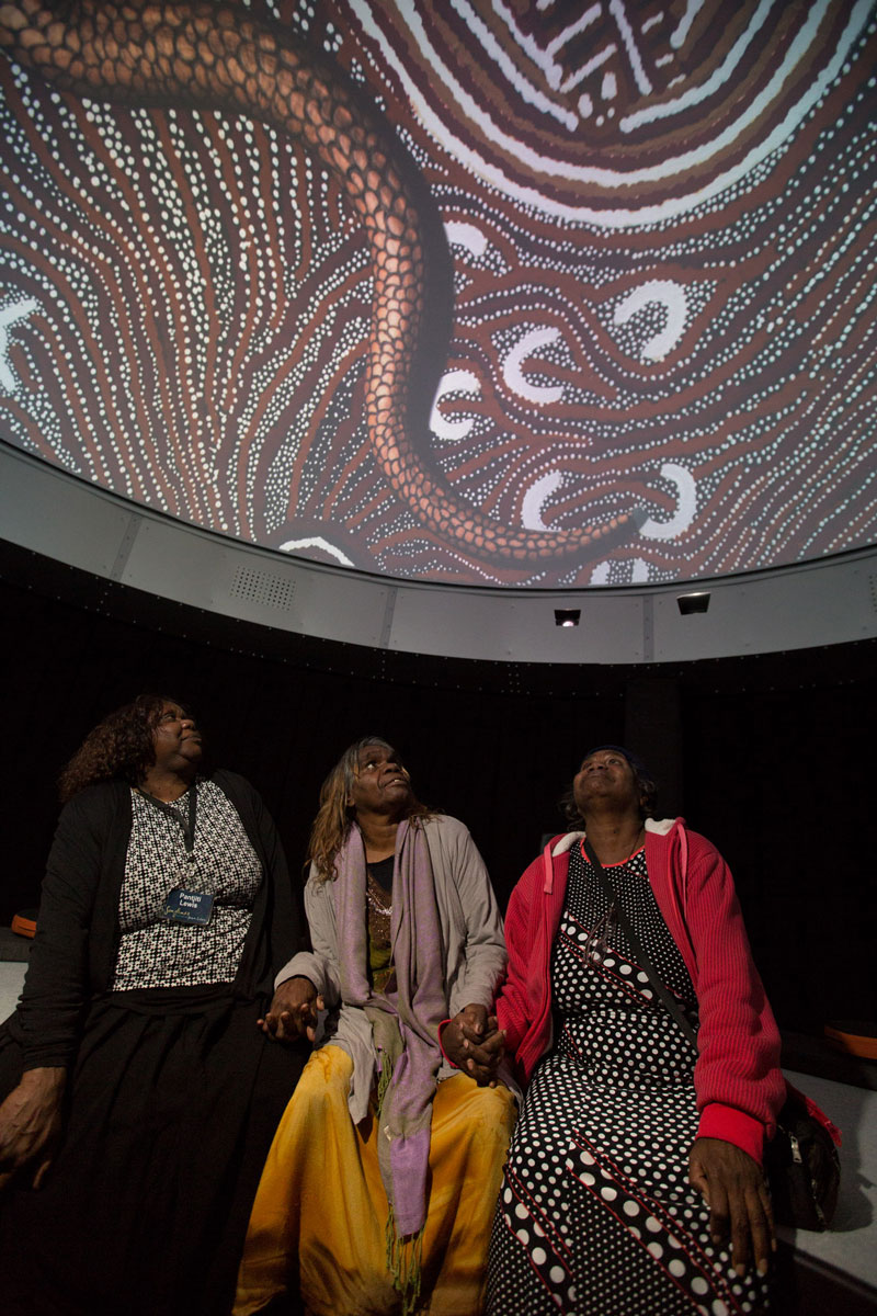 Seven Sisters, DomeLab, National Museum of Australia