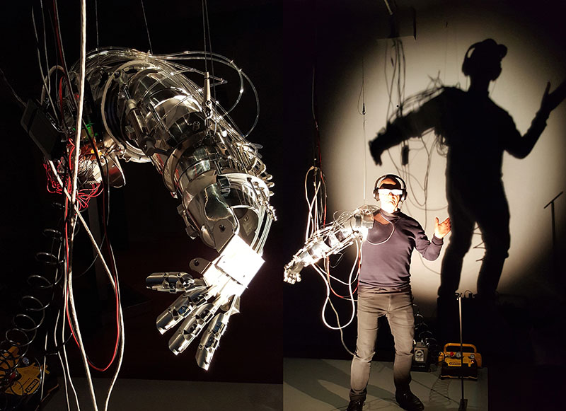 Image result for Stelarc (CY/AU)Re-wired/Re-mixed