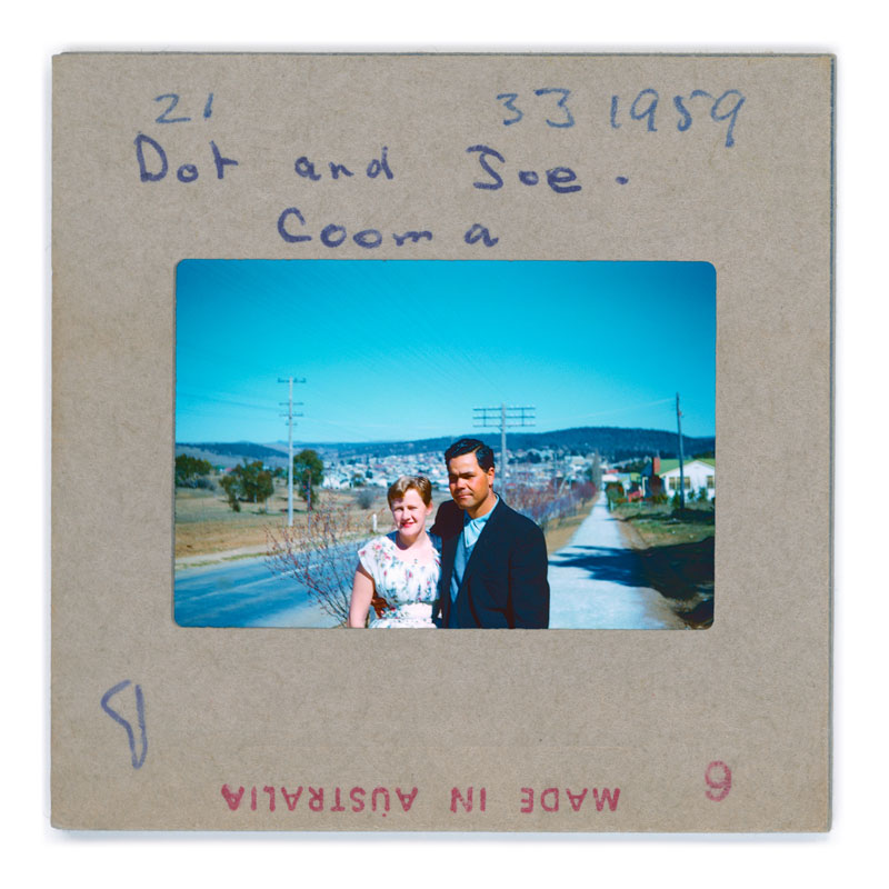 Brenda L. Croft, Dot 21 and Joe 33 Cooma 1959, 2018, photograph, Courtesy of the artist