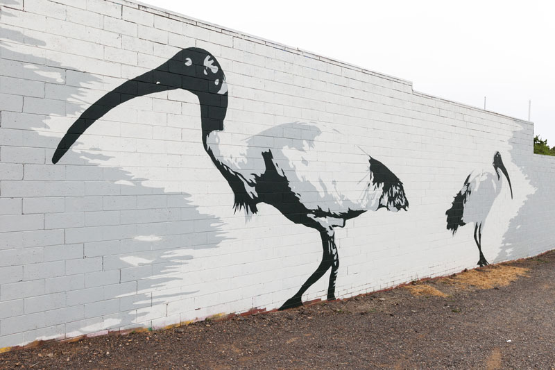 Mural by SONSIE. Photo courtesy and © the artist