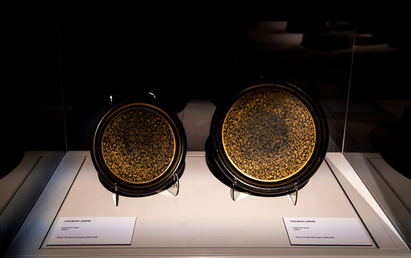 Lacquer plates, Berndt Collection
