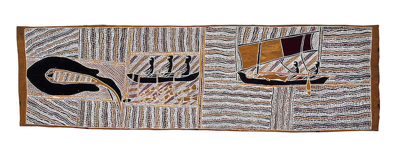 Yirrkala, bark painting