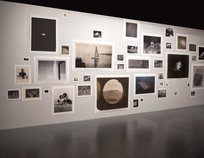 Patrick Pound, Small World, 2007, photographs on paper. Image courtesy the artist