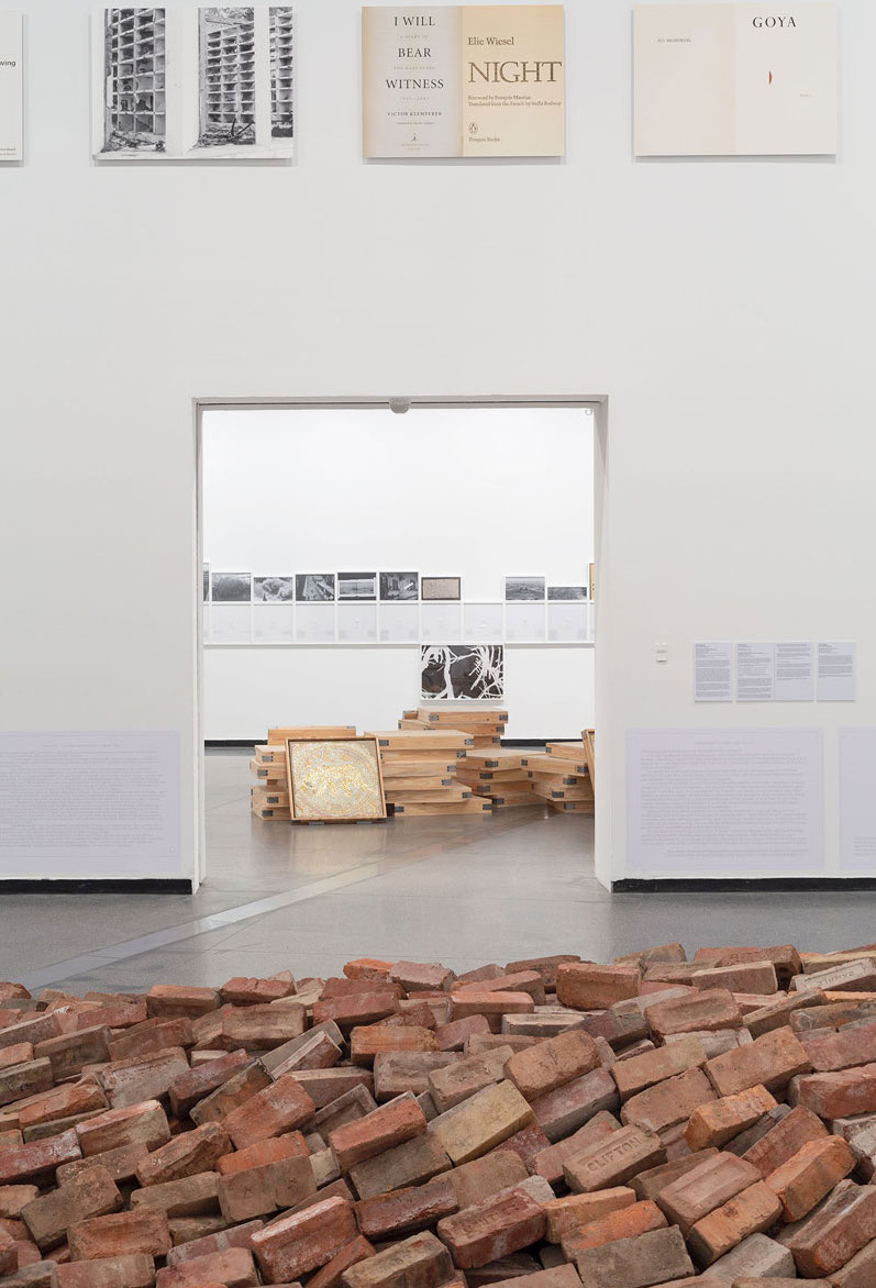 Tom Nicholson: Public Meeting, installation view, Australian Centre for Contemporary Art. Photo: Christian Capurro