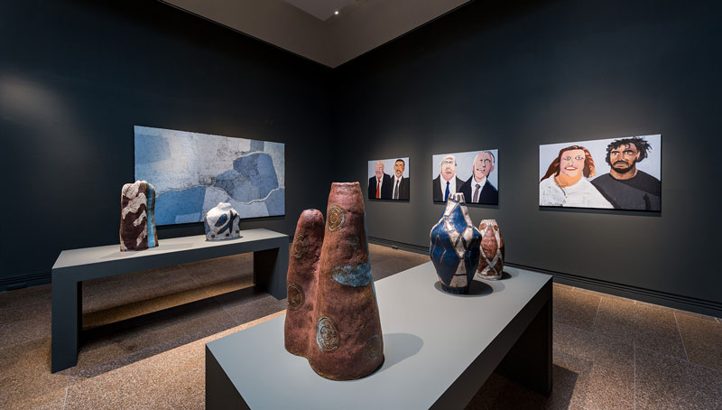 Tarnanthi, installation view, Art Gallery of South Australia