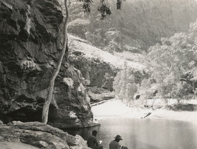 Rex Battarbee, photograph of Albert Namatjira