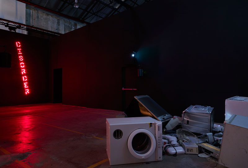 Eugenia Raskopoulos, (dis)order, 2019: New Australian Art. Installation view, The National 2019, Carriageworks. Photo: Zan Wimberley. Courtesy the artist