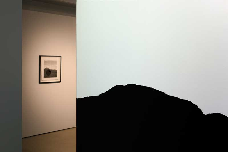 Void, installation view, UTS Gallery: (from Left) James Tylor and Jonathan Jones