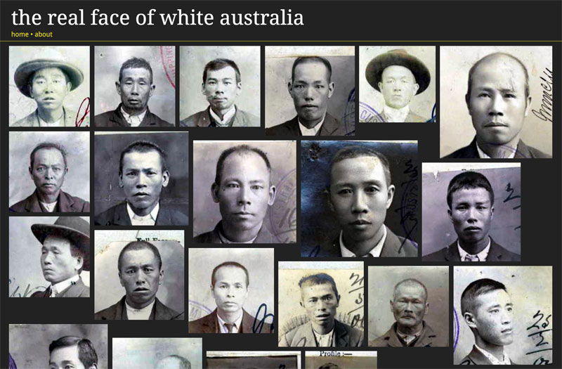 Tim Sherratt and Kate Bagnall The Real Face of White Australia