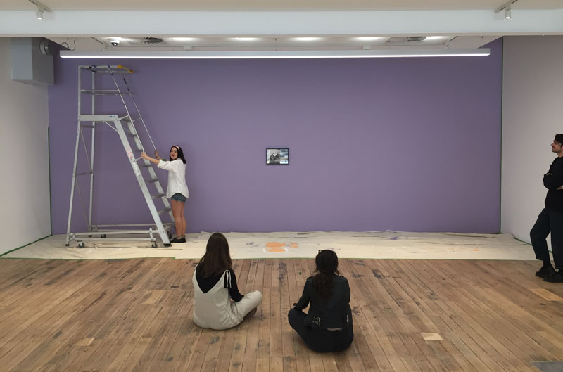John Baldessari: Wall Painting, MADA Gallery, Monash University