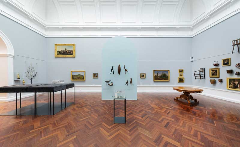Installation view, Elder Wing of Australian Art, Art Gallery of South Australia, 2018. Photo: Saul Steed, courtesy Art Gallery of South Australia