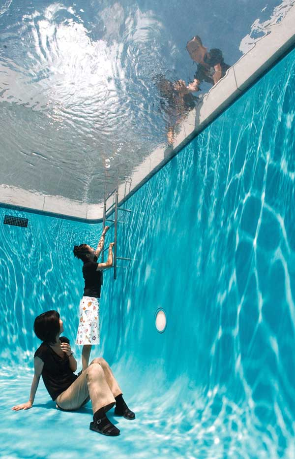 Swimming Pool Art : St century art in the first decade artlink magazine