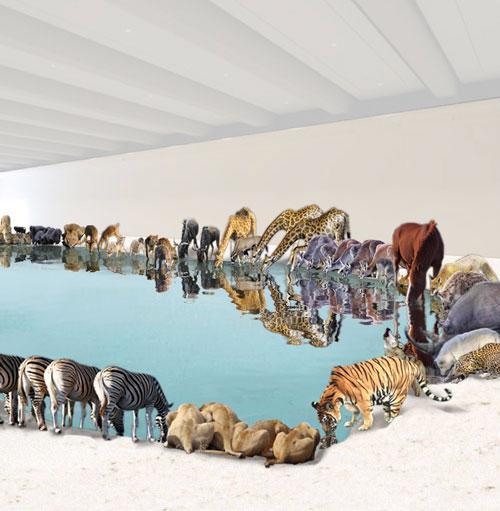 A natural minefield: Cai Guo-Qiang