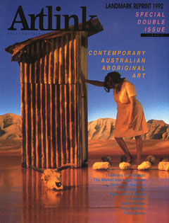 Cover of Contemporary Australian Aboriginal Art
