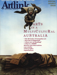 Cover of Setting an Agenda for the Arts in Tasmania