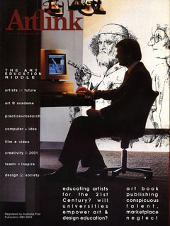 Cover of Computer Art: Critical issues in teaching