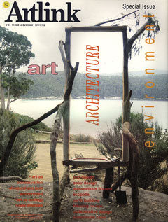 Cover of Art, Architecture & the Environment