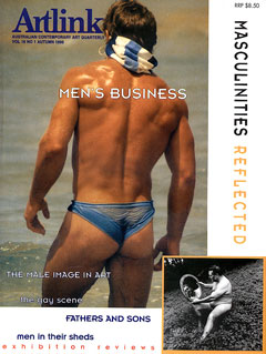 Cover of Men's Business: Masculinities Reflected