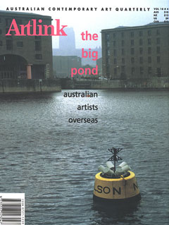 Cover of The Big Pond: Australian Artists Overseas